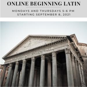Online Beginning Latin