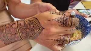 Join the Henna Party:  Free Hand Decoration!