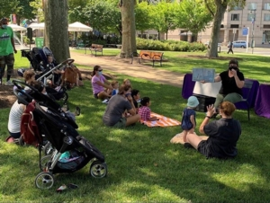 Parkway Pals Storytime at Sister Cities Park