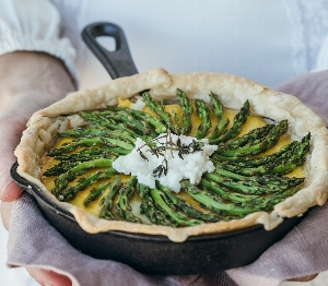 Brunch for Dinner: Master a Classic Spring Quiche