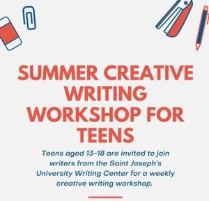 Summer Creative Writing Workshops for Teens