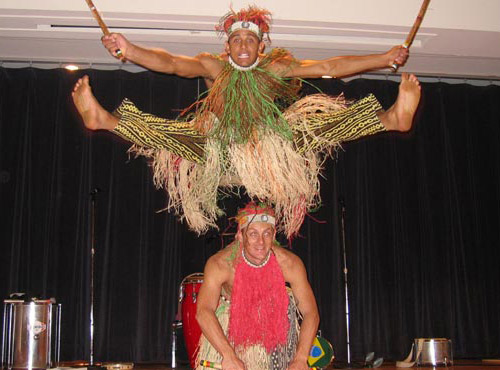 Sundays on Stage: Ginga Brasileira's Free to Dance - Events - Free Library