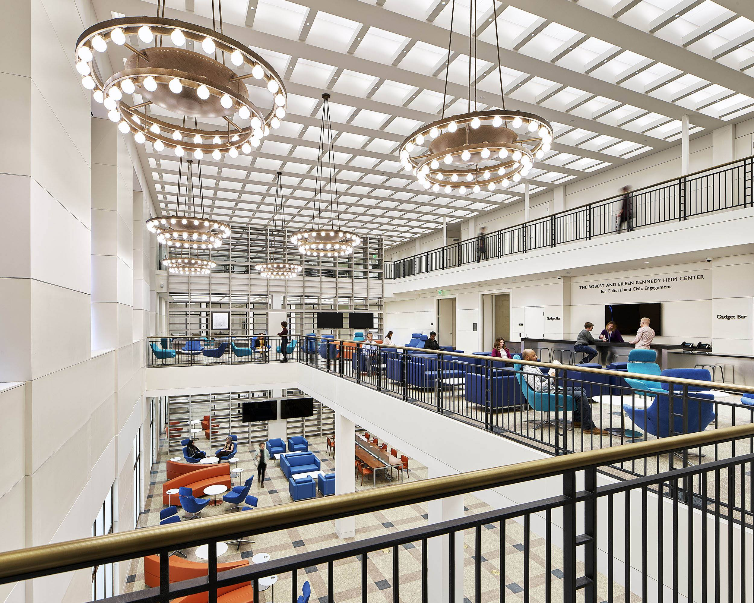 Newly Renovated And Re Imagined Central >> Reimagined Parkway Central Library Free Library