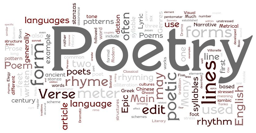 Image result for poetry""