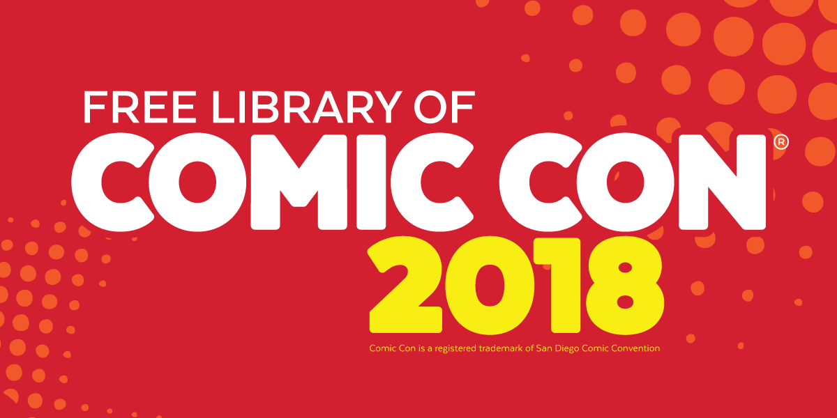 Free Library of Comic Con 2018