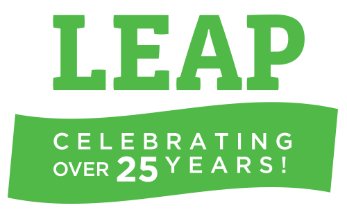 LEAP. Celebrating over 25 years!
