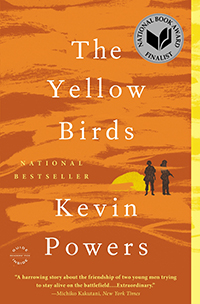 Book Cover - The Yellow Birds by Kevin Powers