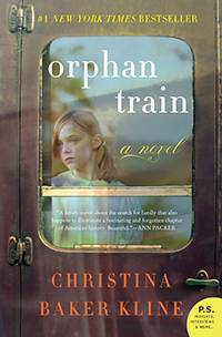 Book Cover - Orphan Train by Christina Baker Kline