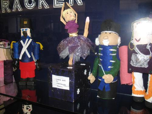 Just a few of the many Nutcrackers made in rec centers throughout Philadelphia.