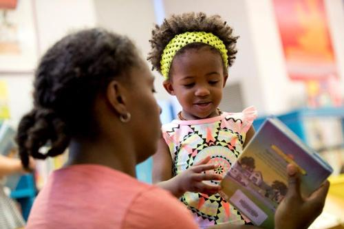 The Free Library supports early literacy through singing-and-dancing storytimes, book nooks in businesses across the city, and now a new partnership with local childcare programs in high-need communities.