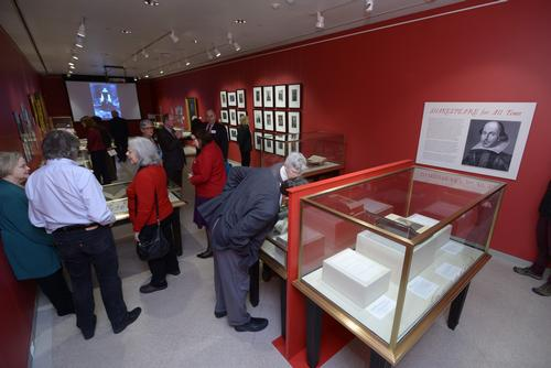 The Rare Book Department's new William B. Dietrich Gallery