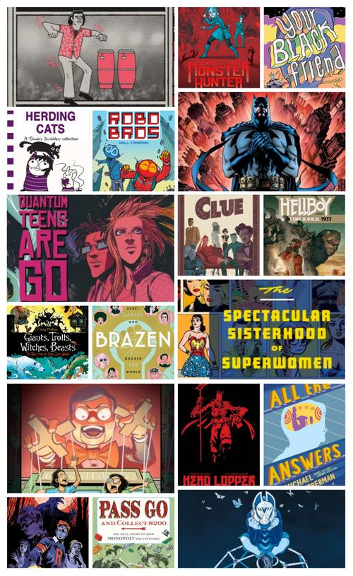 18 Great Graphic Novels from 2018!