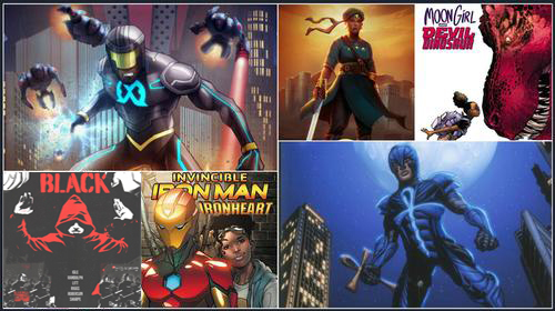 Feeling ready to branch out and explore African and African-American Superheroes that aren't Black Panther? Read on to discover more about these great characters!