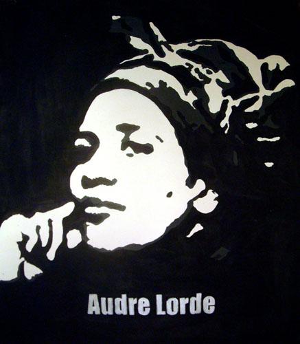 Poet Audre Lorde