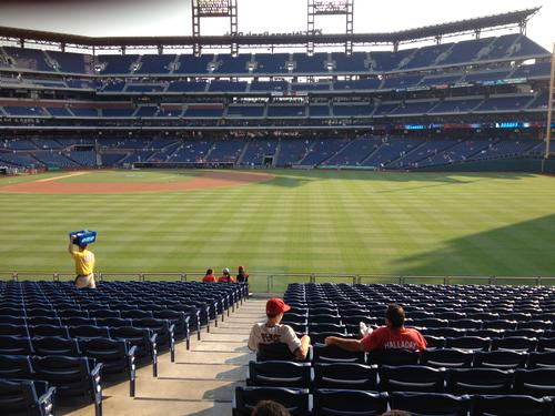 June 21, 2012 at the ballpark