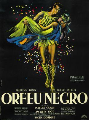 Black Orpheus film poster © Dispat Films