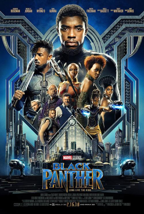 <i>Black Panther</i> opens in theaters Friday, February 16, 2018