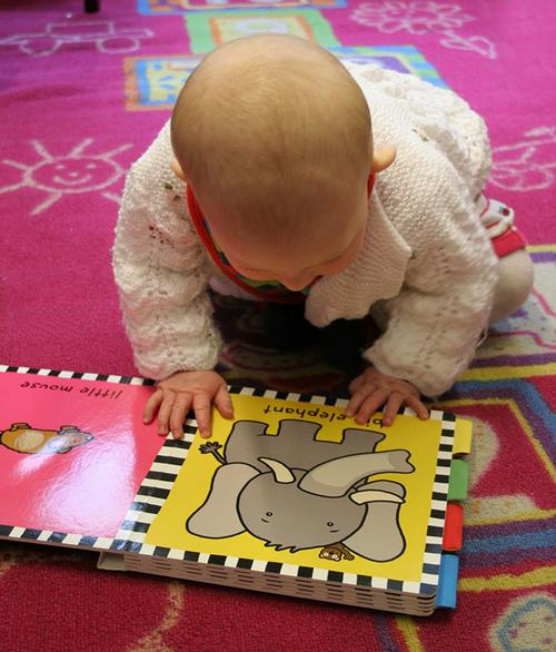 Babies love board books!