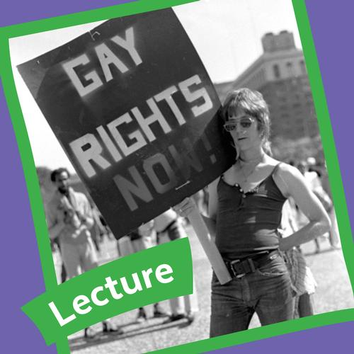 A photo of Bob Skiba, Curator of Collections at the John J. Wilcox Jr. LGBT Archives