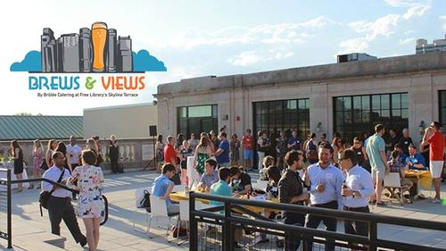 Join us as we kick off the Spring Rooftop Beer Garden series, April 26 and 27 at the Parkway Central Library!