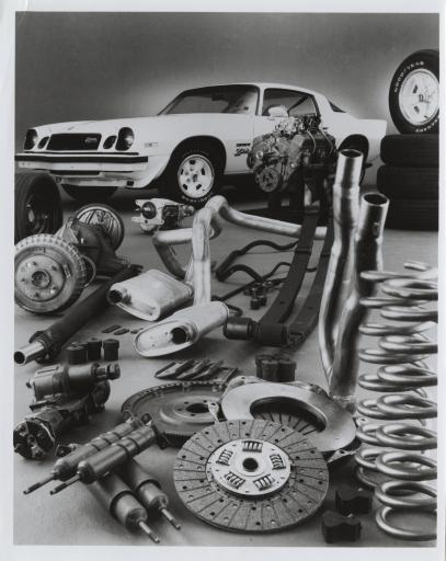 1977 Camaro Z-28 and its parts, from our Automobile Reference Digital Collection http://libwww.freelibrary.org/diglib/diglibLst.cfm?chk=10