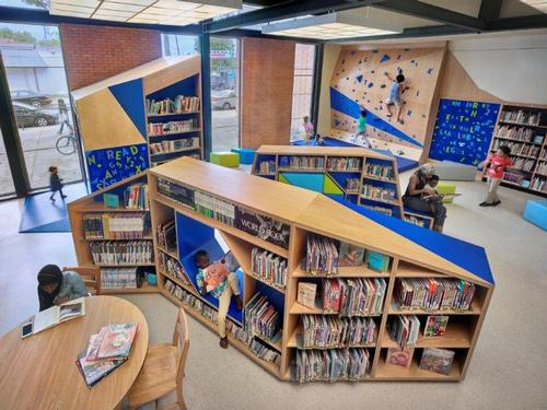 Cecil B. Moore Library's new Play-and-Learn Space