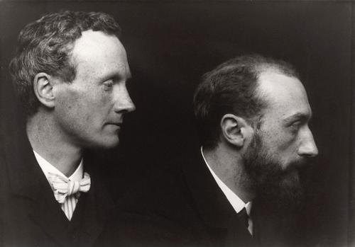 Charles Haslewood Shannon and Charles Ricketts by George Charles Beresford. Photograph, October 1903. National Portrait Gallery.