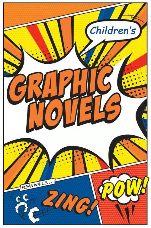 Graphic novels account for some of the most popular children's books today!