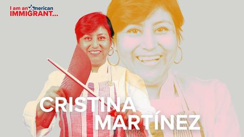 Chef Cristina Martinez. Photo courtesy of AL DÍA News Media.