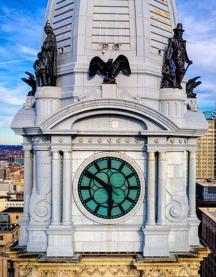 Philadelphia City Hall Clock