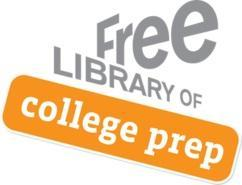The Free Library's College Prep Program helps prepare students for success.