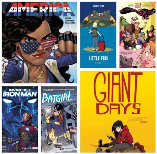 Comics Go To College!