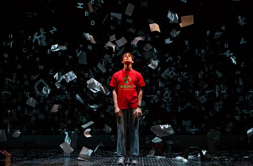 The character of Christopher Boone from the stage adaptation of The Curious Incident of the Dog in the Night-Time