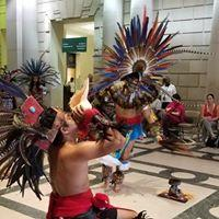 Danza Azteca del Anahuac perform at Parkway Central