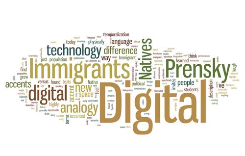 Digital Immigrants Digital Natives Wordle