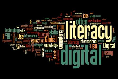 Digital Literacy Wordle