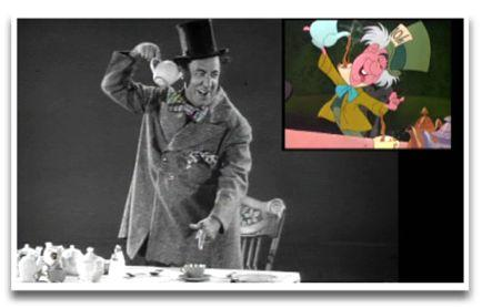 Wynn as the Mad Hatter