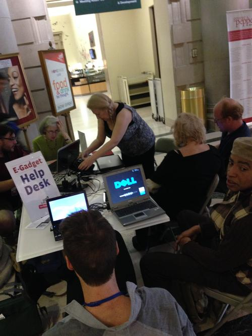 E-Gadget Help Desk at Parkway Central Library