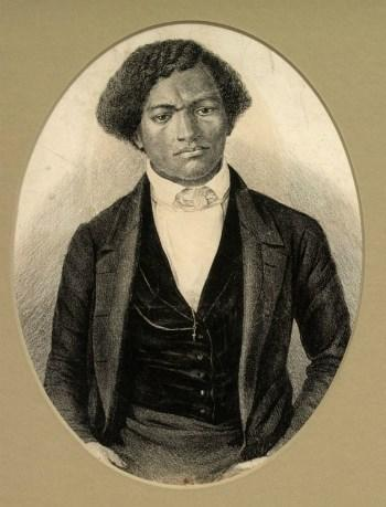 Frederick Douglass escaped from slavery as a young man.