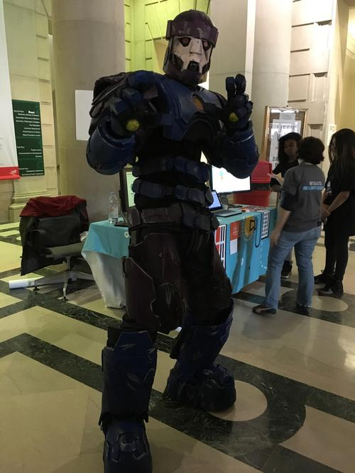 Our cosplayers really bring their A game—check out this Sentinel!
