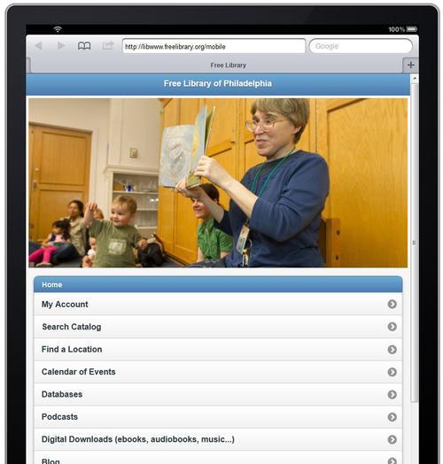 Mobile site 3.0 on iPad