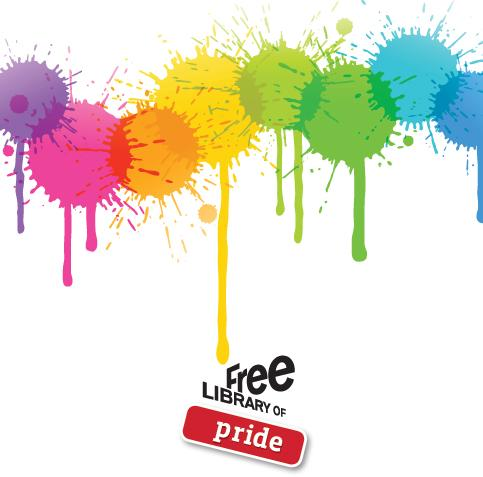 Curious about the Free Library of Pride?
