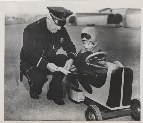 Murray Fay. World's Youngest Automobile Driver. 3/6/1947*