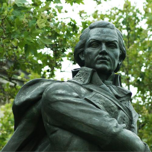 Statue of Francisco de Miranda at 20th Street and Ben Franklin Parkway