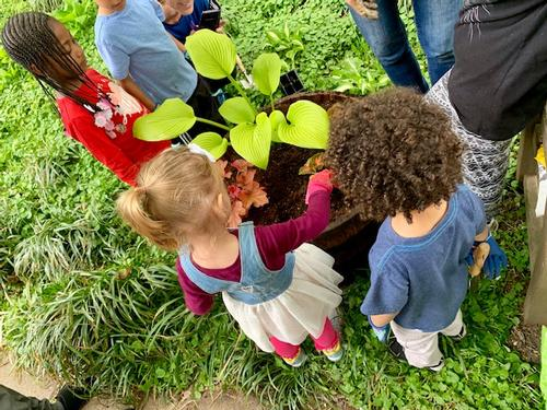 Gardening for Kids program at Falls of Schuylkill
