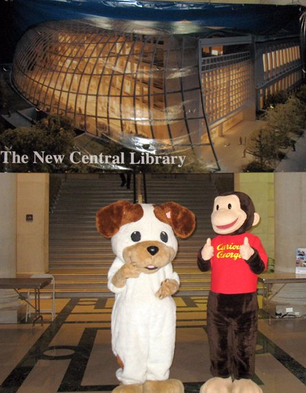 Poky the Puppy and Curious George