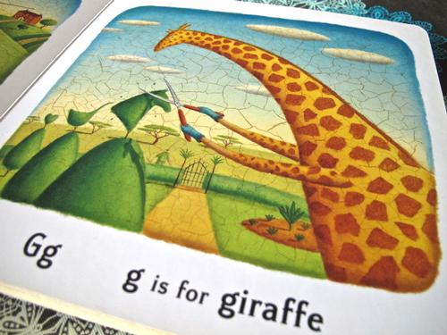 G is for Giraffe!