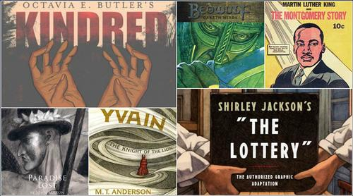 Here are some downright fantastic graphic novel adapations of classic literature.