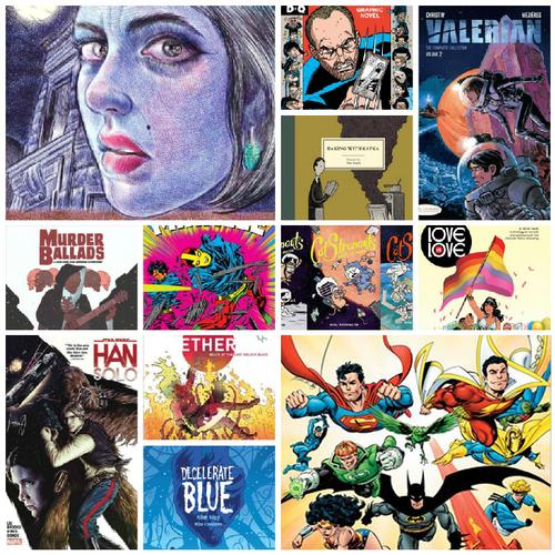 Whether they were new stand-alone stories, retro reissue collections, original children's series, or new adventures with familiar faces, there was no shortage of comic-related reading material in 2017.