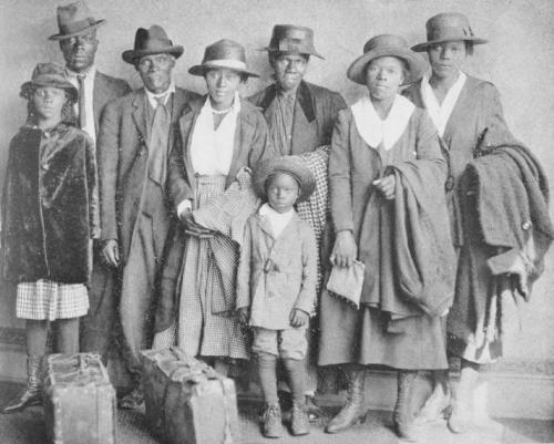 From the start of World War I into the early 1970s, six million blacks climbed into wagons, boarded trains or piled into automobiles, exiting the American South in a movement now known as the Great Migration.